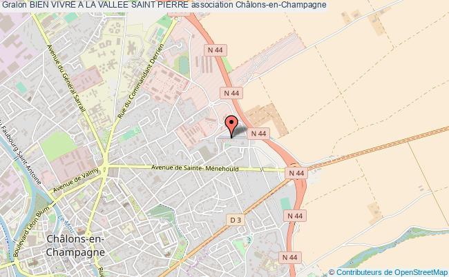 plan association Bien Vivre A La Vallee Saint Pierre