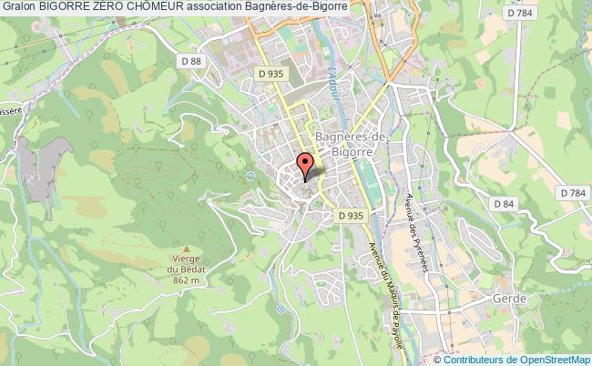 plan association Bigorre ZÉro ChÔmeur Bagnères-de-Bigorre