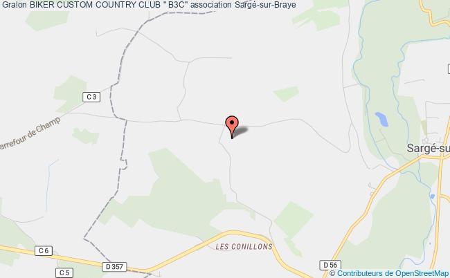 "plan association Biker Custom Country Club "" B3c"""
