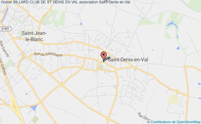 plan association Billard Club De St Denis En Val