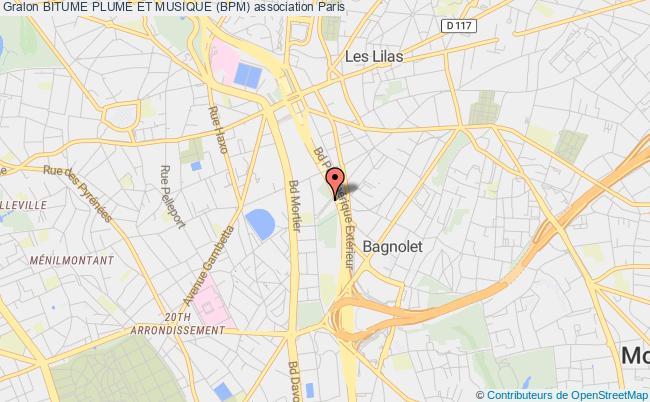 plan association Bitume Plume Et Musique (bpm)