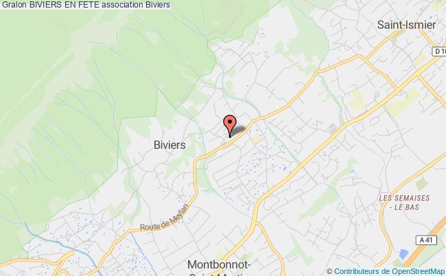 plan association Biviers En Fete Biviers