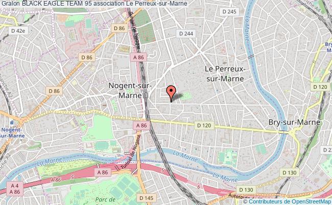 plan association Black Eagle Team 95 Le Perreux-sur-Marne