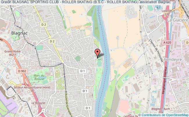 plan association Blagnac Sporting Club - Roller Skating (b.s.c - Roller Skating)