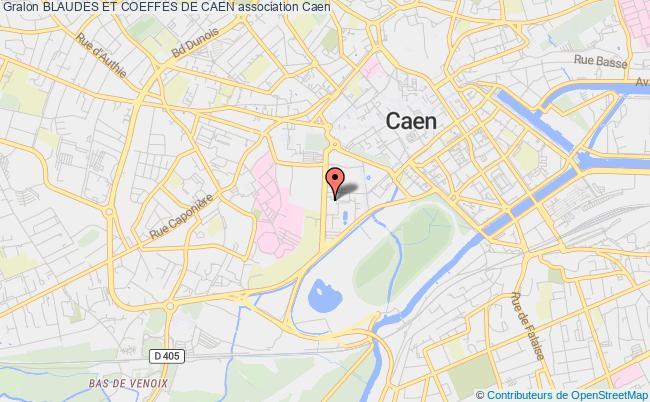 plan association Blaudes Et Coeffes De Caen