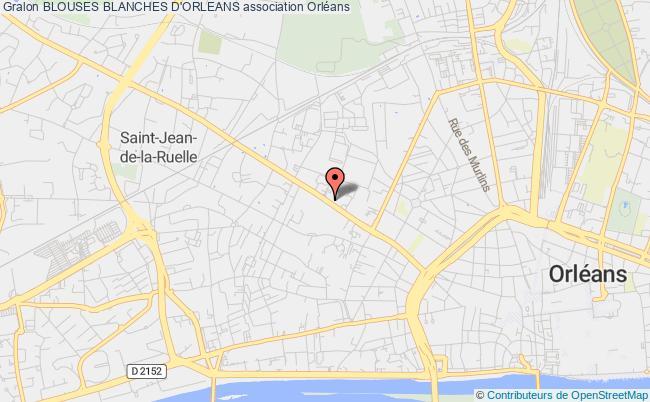 plan association Blouses Blanches D'orleans