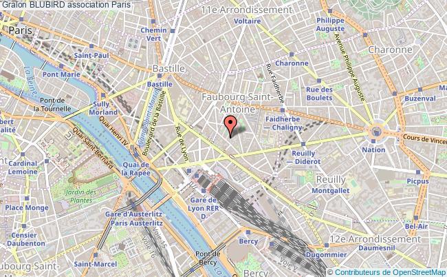 plan association Blubird PARIS 12