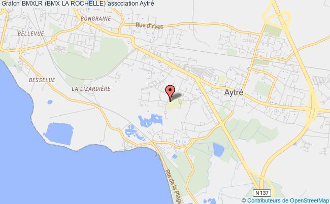 plan association Bmxlr (bmx La Rochelle) Aytré