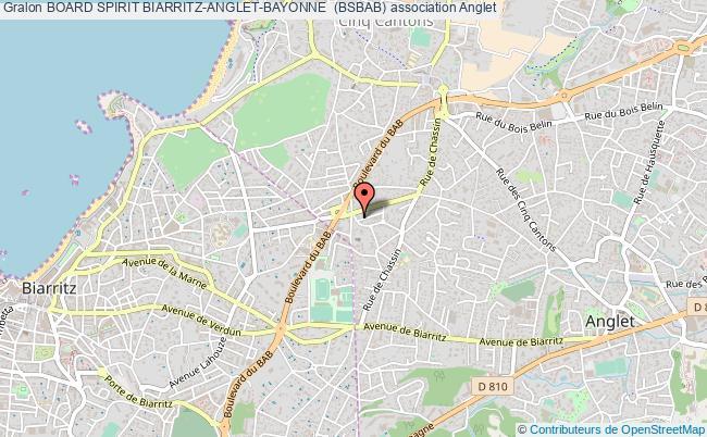plan association Board Spirit Biarritz-anglet-bayonne  (bsbab)