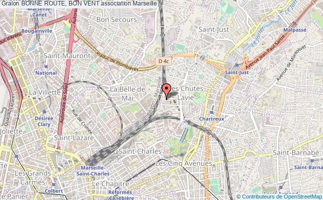 plan association Bonne Route, Bon Vent Marseille