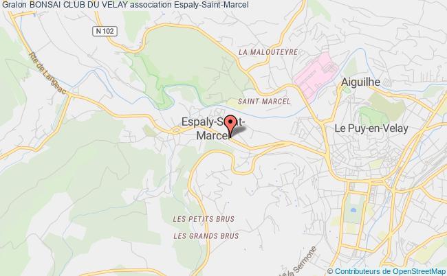 plan association Bonsai Club Du Velay Espaly-Saint-Marcel