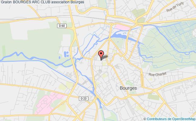 plan association Bourges Arc Club Bourges
