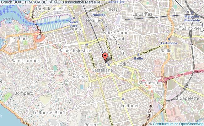 plan association Boxe Francaise Paradis