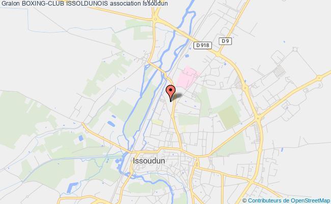 plan association Boxing-club Issoldunois Issoudun
