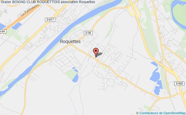 plan association Boxing Club Roquettois