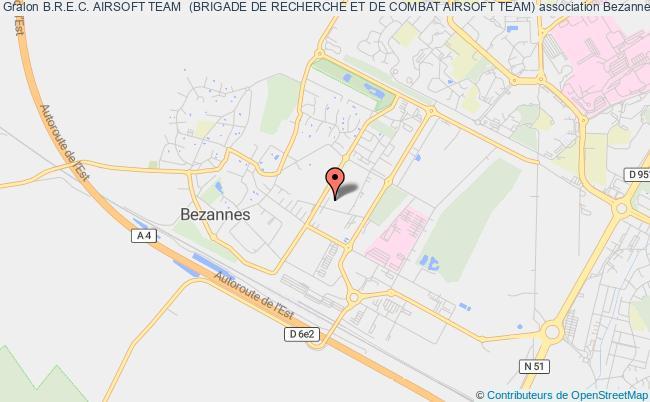 plan association B.r.e.c. Airsoft Team  (brigade De Recherche Et De Combat Airsoft Team)