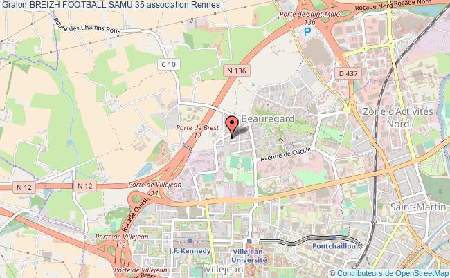 plan association Breizh Football Samu 35
