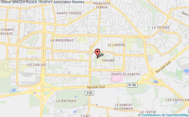 plan association Breizh Rider Trophy Rennes