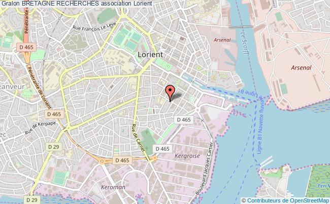 plan association Bretagne Recherches
