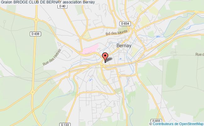 plan association Bridge Club De Bernay