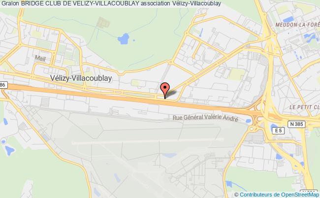 plan association Bridge Club De Velizy-villacoublay