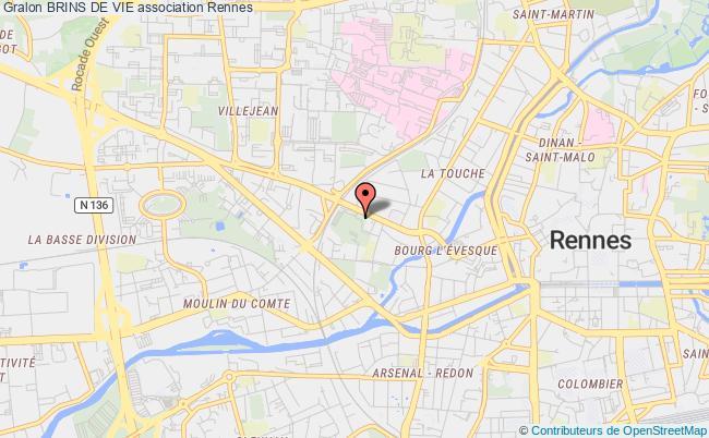 plan association Brins De Vie Rennes