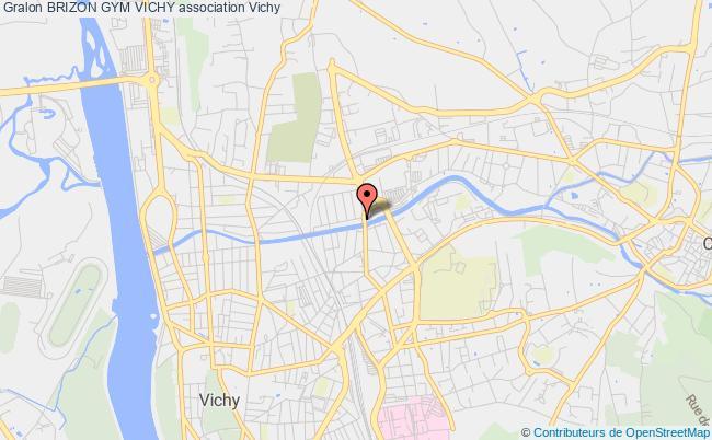 plan association Brizon Gym Vichy