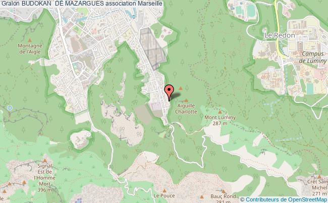 plan association Budokan  De Mazargues