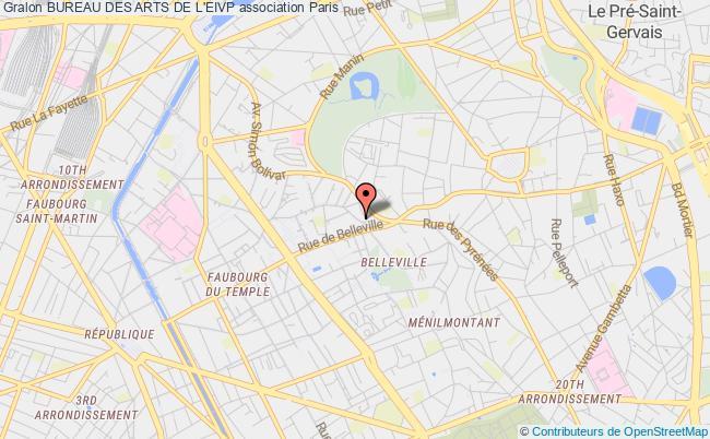 plan association Bureau Des Arts De L'eivp