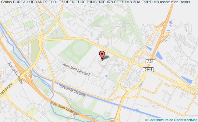 Plan Association Bureau Des Arts Ecole Superieure Dingenieurs De Reims Bda Esireims