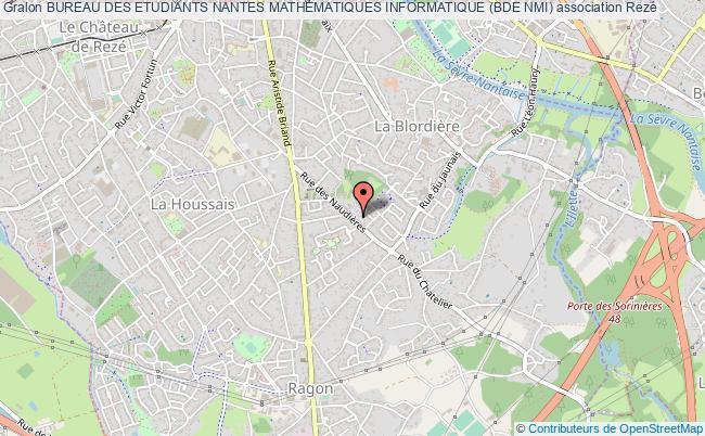 plan association Bureau Des Etudiants Nantes Mathematiques Informatique (bde Nmi)