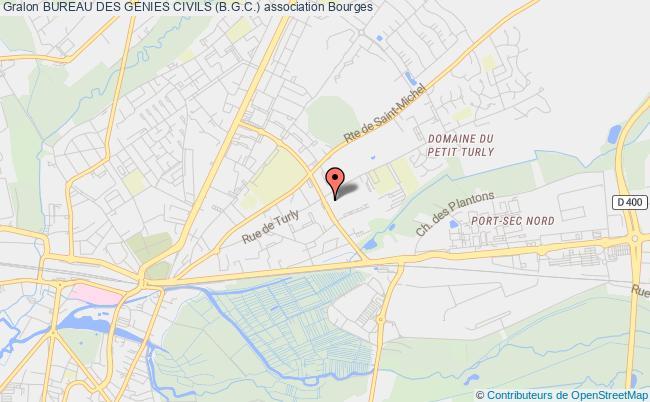 plan association Bureau Des Genies Civils (b.g.c.) Bourges