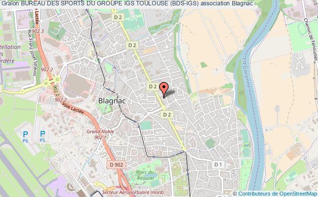 plan association Bureau Des Sports Du Groupe Igs Toulouse (bds-igs)