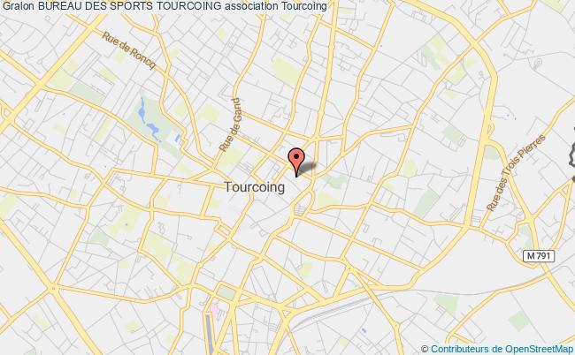 plan association Bureau Des Sports Tourcoing
