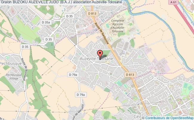 plan association Buzoku Auzeville Judo (b.a.j.) Auzeville-Tolosane