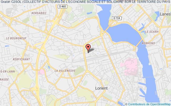 plan association C2sol (collectif D'acteurs De L'economie Sociale Et Solidaire Sur Le Territoire Du Pays De Lorient)