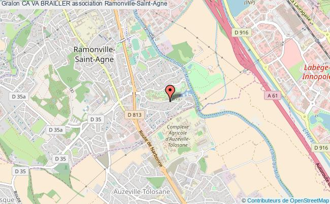plan association Ca Va Brailler Ramonville-Saint-Agne