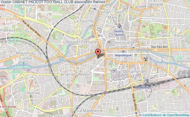 plan association Cabinet Palicot Football Club