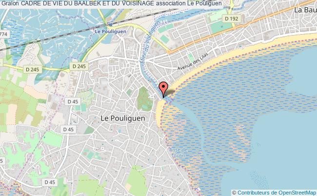 plan association Cadre De Vie Du Baalbek Et Du Voisinage