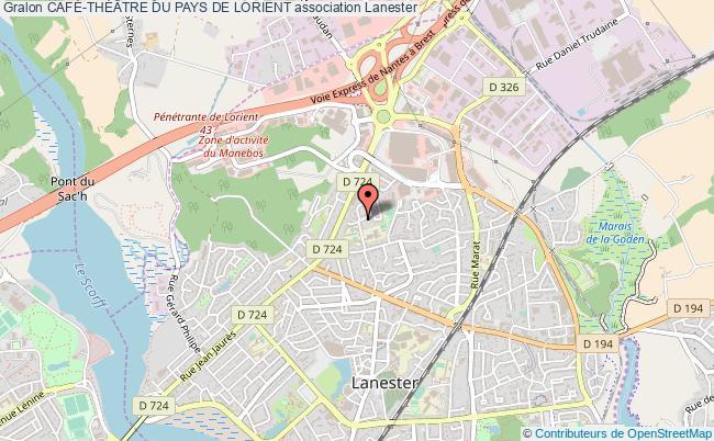 plan association CafÉ-thÉÂtre Du Pays De Lorient