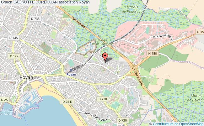 plan association Cagnotte Cordouan Royan