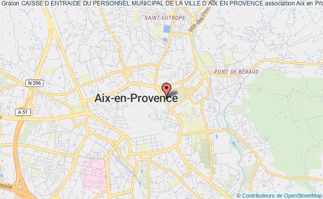 plan association Caisse D Entraide Du Personnel Municipal De La Ville D Aix En Provence