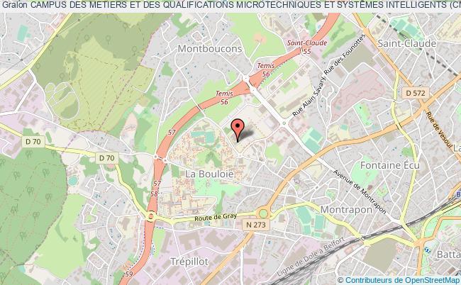 plan association Campus Des Metiers Et Des Qualifications Microtechniques Et Systemes Intelligents (cmq M&si)