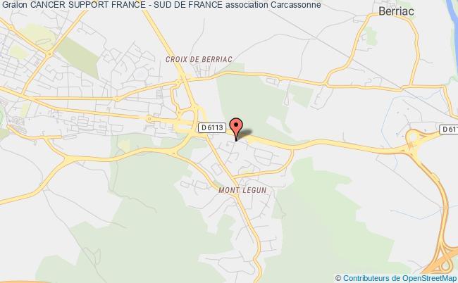 plan association Cancer Support France - Sud De France (11,09,66)