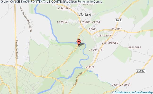 plan association Canoe-kayak Fontenay-le-comte
