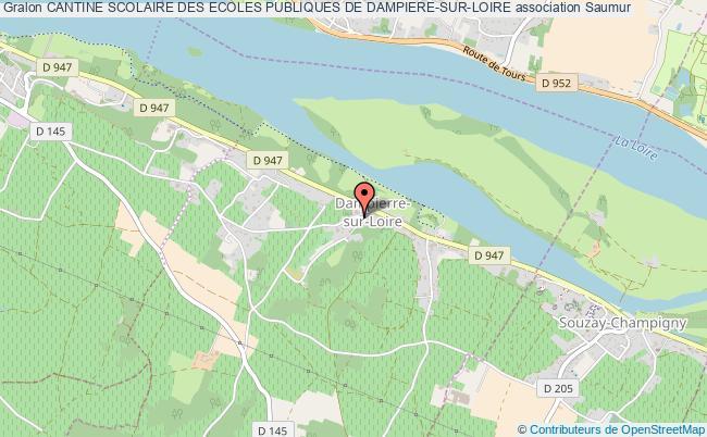 plan association Cantine Scolaire Des Ecoles Publiques De Dampiere-sur-loire