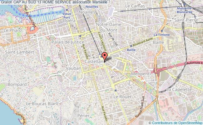 plan association Cap Au Sud 13 Home Service Marseille