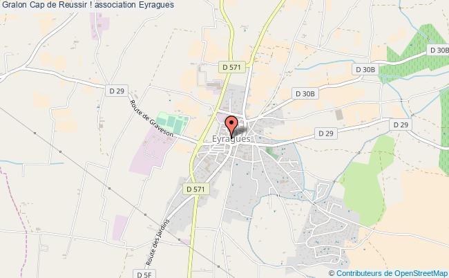 plan association Cap De Reussir ! Eyragues