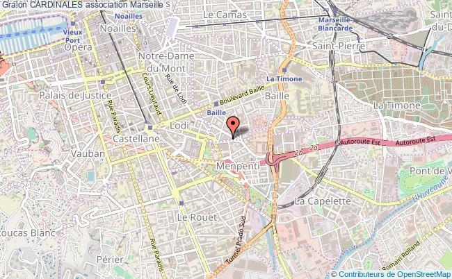 plan association Cardinales Marseille