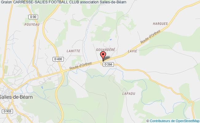 plan association Carresse-salies Football Club